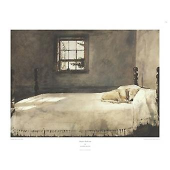 Master Bedroom c1965 Poster Print by Andrew Wyeth (29 x 22)