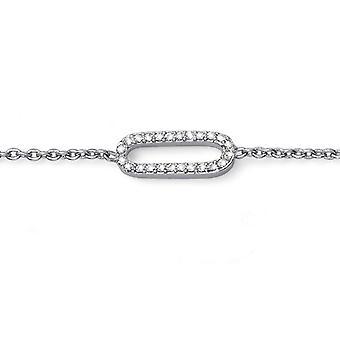 Oliver Weber Bracelet Yours Rhodium Crystal