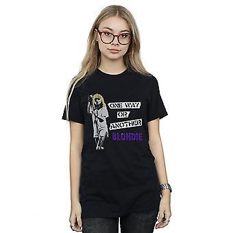 Blondie kvinnors ett sätt eller ett annat pojkvän Fit T-Shirt