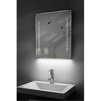Espejo de baño de LED de ambiente afeitadora con Demister Pad y Sensor K55s