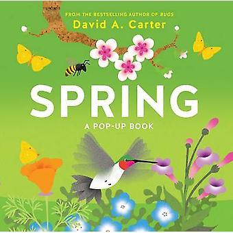 Våren - en popup-bok av David Carter - 9781419719127 bok