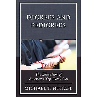الدرجات والنسب-تعليم كبار المديرين التنفيذيين أميركا من M