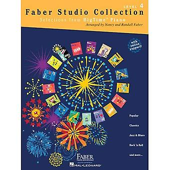 Faber Studio Collection: Selections from Bigtime Piano - Level 4