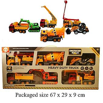Heavy Duty Truck 6 teiliges Set