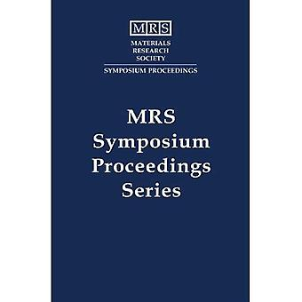 Materials Reliability in Microelectronics IV: Volume 338 (MRS Proceedings)
