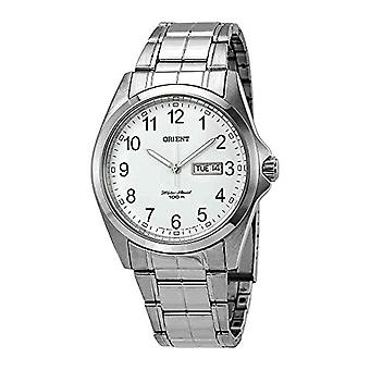 Orient men's Quartz analogue watch with stainless steel band FUG1H002W6