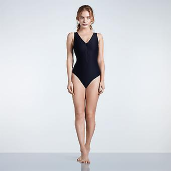 USA Pro Womens Zip Front Swimsuit