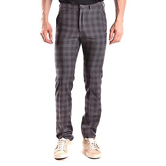 Gazzarrini Ezbc204008 Men's Grey Wool Pants