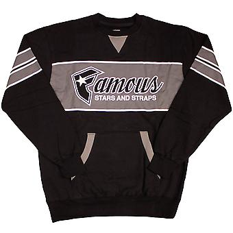 Famous Stars and Straps Fast Break Sweatshirt Black
