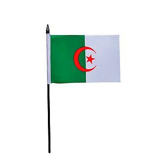 Algeria Hand Held Flag
