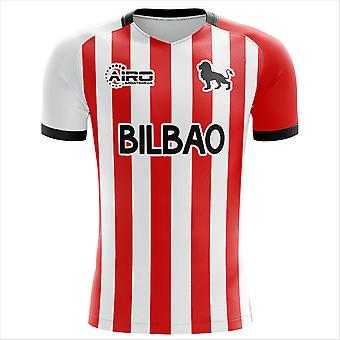 2019-2020 Athletic Bilbao Home Concept Football Shirt - Manica lunga per adulti