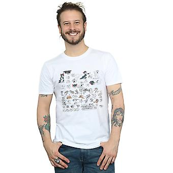 Tom And Jerry Men's Cartoon Dept T-Shirt