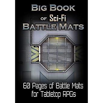 Mare carte de Sci-fi Battle Mats Playmat
