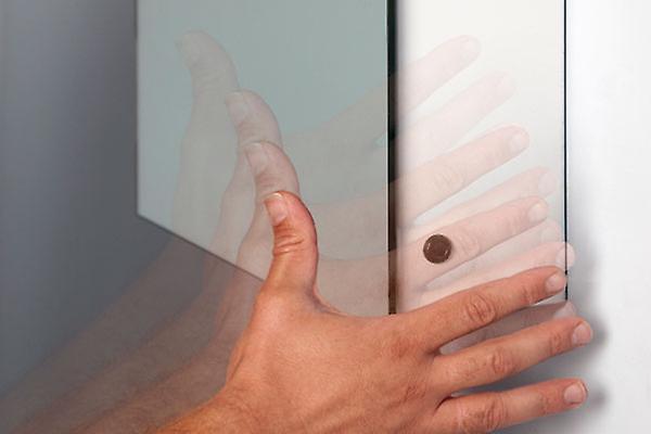 Ambient Demist Cabinet With Sensor & Internal Shaver Socket k394W