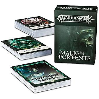 Spiele-Workshop-Warhammer Alter von Sigmar-Malign Portents Cards