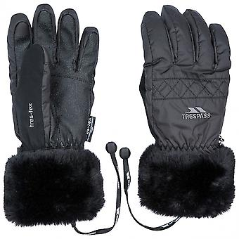 Trespass Womens Yanki Lightly Padded Winter Warm Gloves