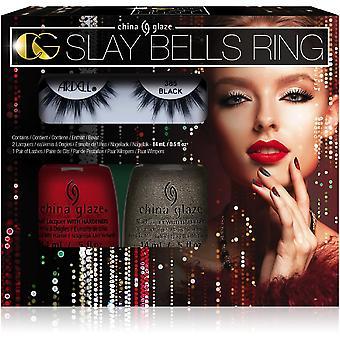 Kina Glaze neglelak samling-3 stykke Slay Bells ring Kit (80022)