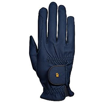 Roeckl Roeck-grip (chester) Horse Riding Gloves - Navy Blue