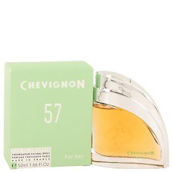 Chevignon 57 eau de toilette spray by jacques bogart 460099 50 ml