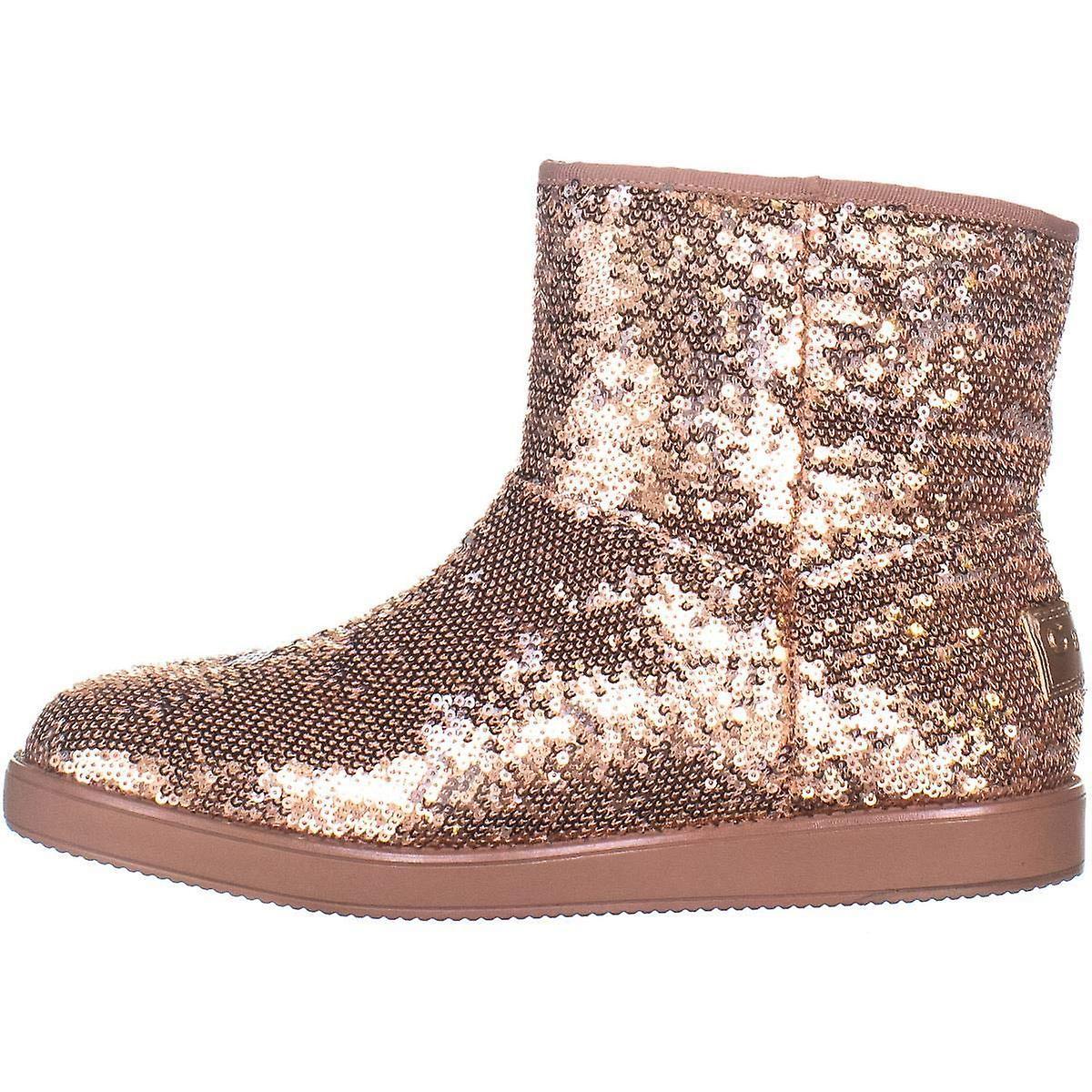 Guess damskie tkaniny Asella zamknięte toe kostki zimne buty pogodowe MtLMo
