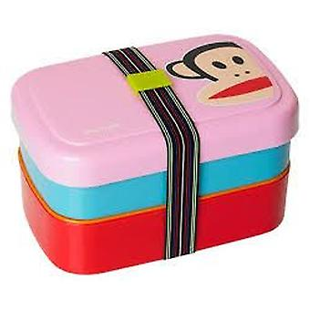 Paul Frank Picnic Lunch Box Rosa (Kitchen , Kitchen Organization , Tuppers)