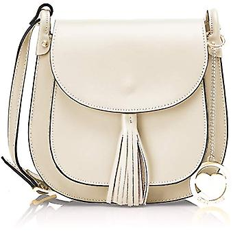 Chicca Bags Cbcad001tar Women's Shoulder Bag Beige 7x21x23 cm (W x H x L)