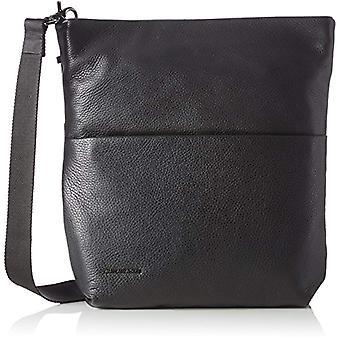 Mandarin Duck Mellow Leather Black Women's Bag Strap 5x33x32 Centimeters (B x H x T)
