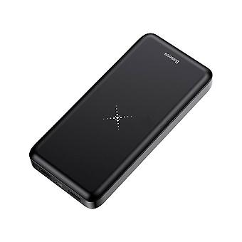 Wireless Charger 10000mAh Power Bank Black