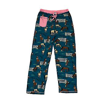 LazyOne Womens/Ladies Pasture Bedtime PJ Trousers