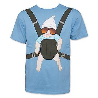 Der Hangover Babycarrier Männer's blau Grafik T-Shirt