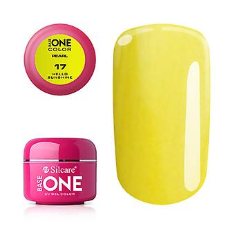 Base one-Pearl-Hello sunshine 5g UV Gel