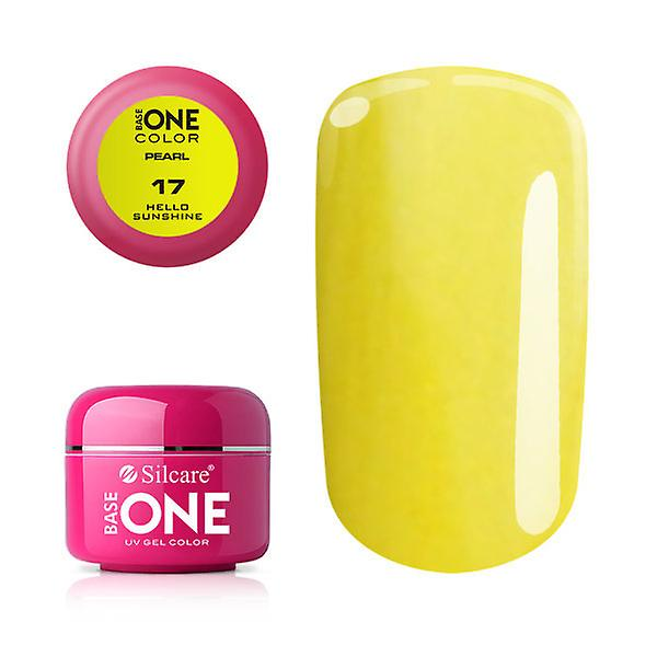 Base one - Pearl - Hello sunshine 5g UV-gel
