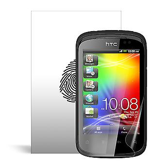 Celicious Vivid Plus Mild Anti-Glare Screen Protector Film Compatible with HTC Explorer [Pack of 2]