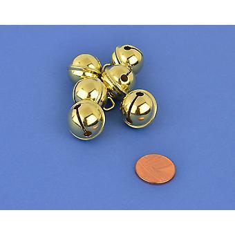 6 золото 19 мм Cat колокол стиль Jingle Bells ремесла | Ремесло колокола | & Ремесла