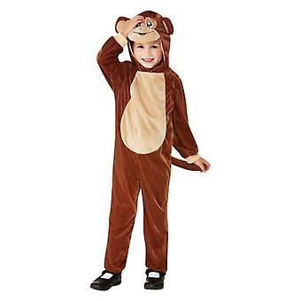 Småbarn søte brun apekatten Fancy kjole kostyme