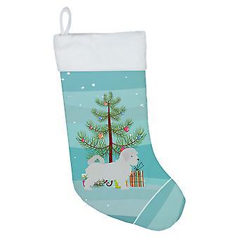 Carolines Treasures BB2954CS Maltan hyvää joulua puu joulu sukat