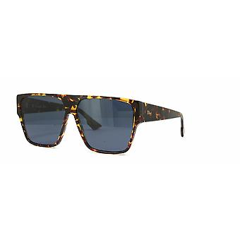 Dior Hit P65/A9 Brown-Yellow Havana/Blue Sunglasses