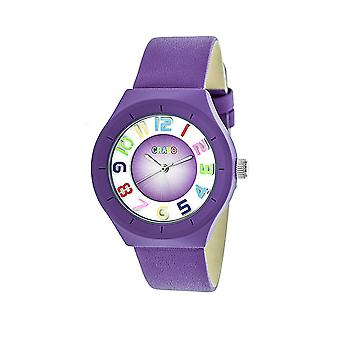 Crayo atomaire Unisex horloge-paars
