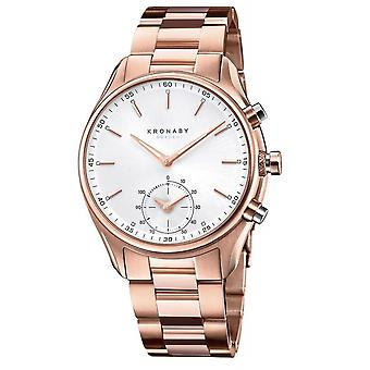 Kronaby S2745-1 Men's Sekel Smartwatch Rose Gold Tone