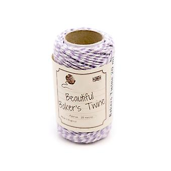 20m Heather Purple Natural Bakers Twine for Crafts & Gift Wrapping