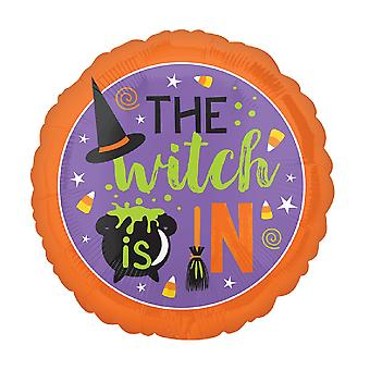 Anagram 18 Inch The Witch Is In Foil Balloon