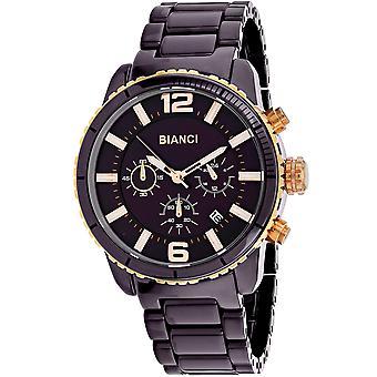 Roberto Bianci Men's Amadeo Brown Zifferblatt Uhr - RB58753