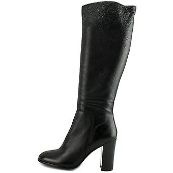 Kenneth Cole New York Womens Justin Leather Closed Toe Knee High Fashion Boots
