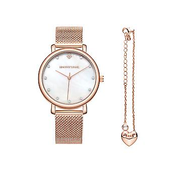 Timothy Stone femmes regarder collection Trinity Rose Gold