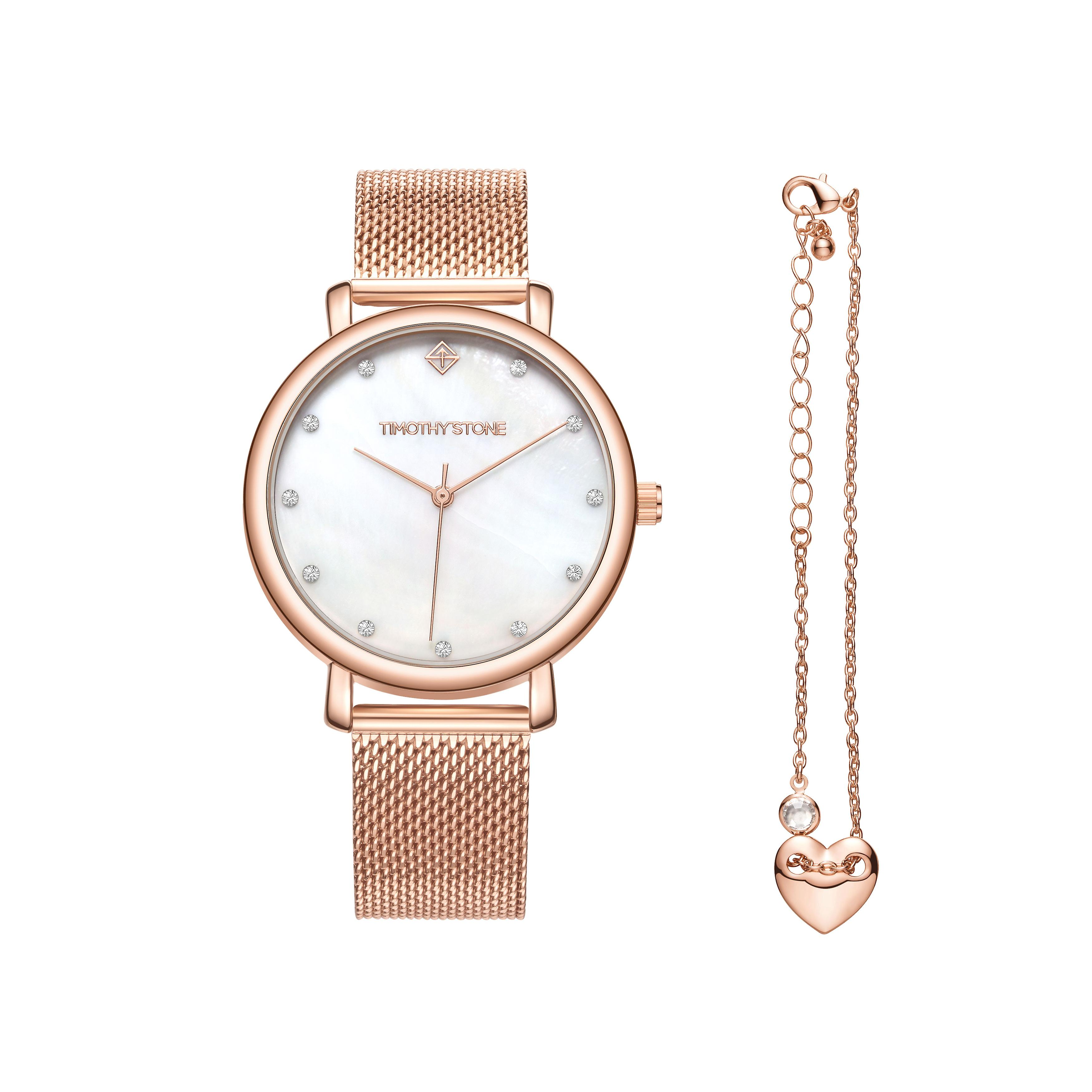 Timothy Stone women watch collection Trinity Rose Gold