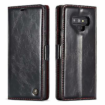 Funda para Samsung Galaxy Note 9 titular de la tarjeta negra