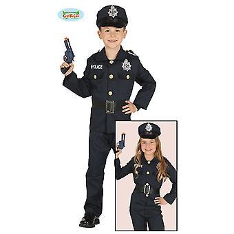 Guirca–Kostüm Polizei Polizist Kinderkostüm