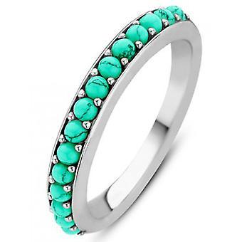 Ring Ti Sento 12123TQ - ring steel Silver Green woman e