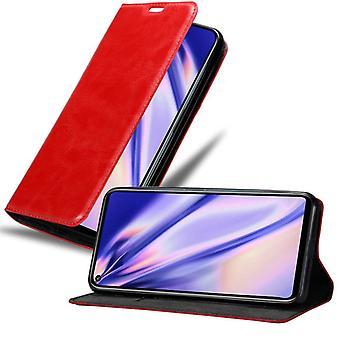 Cadorabo Hülle für Honor 20 PRO Case Cover - Handyhülle mit Magnetverschluss, Standfunktion und Kartenfach – Case Cover Schutzhülle Etui Tasche Book Klapp Style