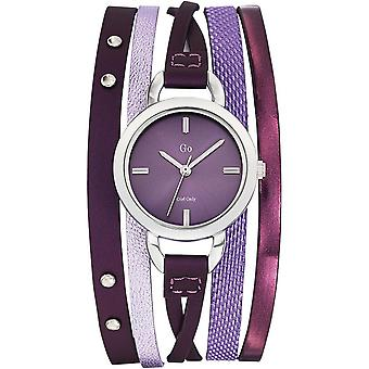 Go Girl Only 698544 - watch leather violet woman